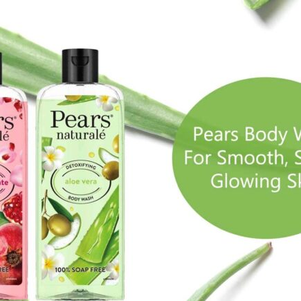 Give Your Skin The Goodness Of Fruit with Pears Body Wash