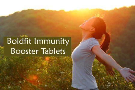 New Launch Boldfit Immunity Booster Tablets for Men and Women