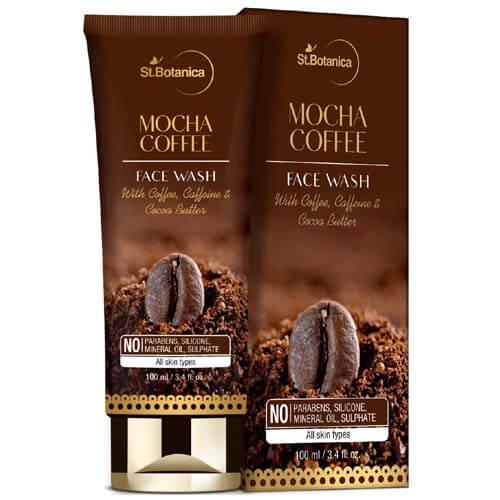 St.Botanica Mocha Coffee Face Wash