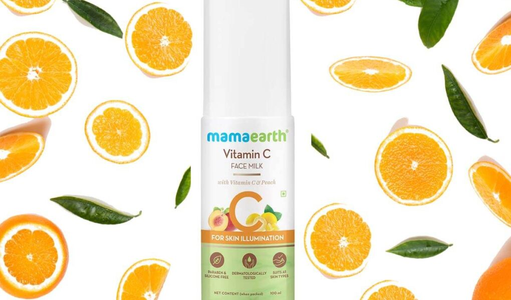 Mamaearth Vitamin C Face Milk with Vitamin C and Peach for Skin Illumination and its benefits- New Launch