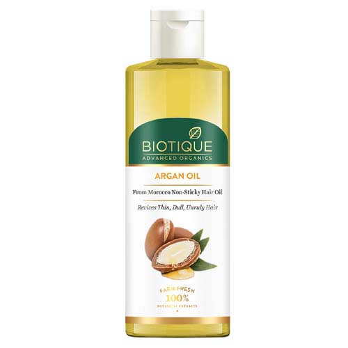 Why to use Biotique Argan Hair Oil?