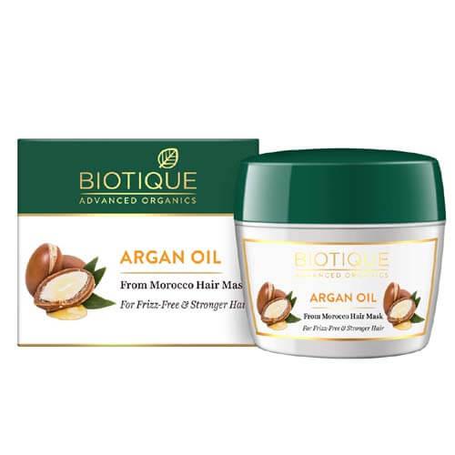 Why Biotique Argan Oil Hair Mask?