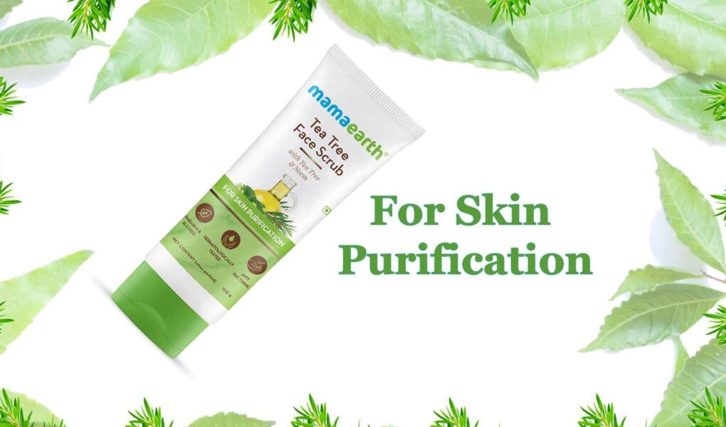 Enjoy Pimple Free Face with Goodness of mamaearth Tea Tree and Neem - new launch