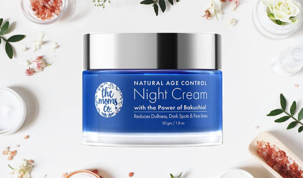 How to Use & What are the Benefits of The Moms Co Natural Age Control Night Cream