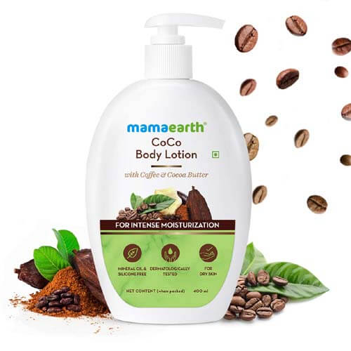 Mamaearth CoCo Body Lotion With Coffee and Cocoa for Intense Moisturization