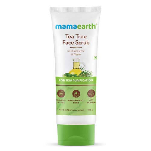 6 Reasons to Use Mamaearth Tea Tree Face Scrub?