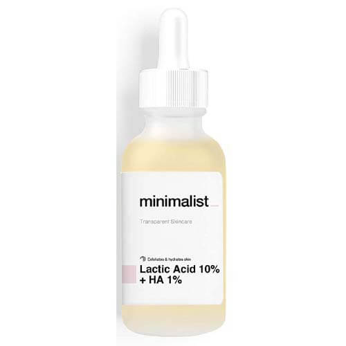 Minimalist Lactic Acid 10% + Hyaluronic Acid 1% Face Serum