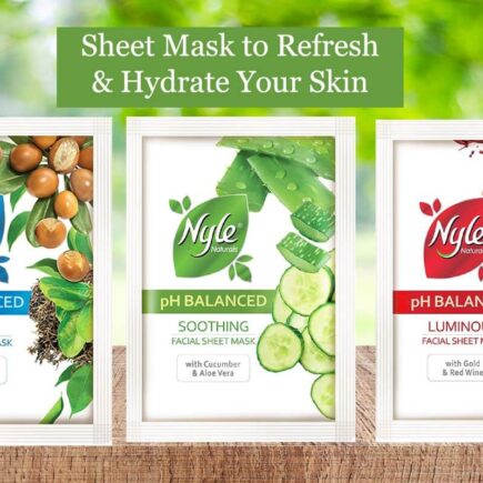 Nyle Sheet Mask to Refresh and Hydrate Your Skin