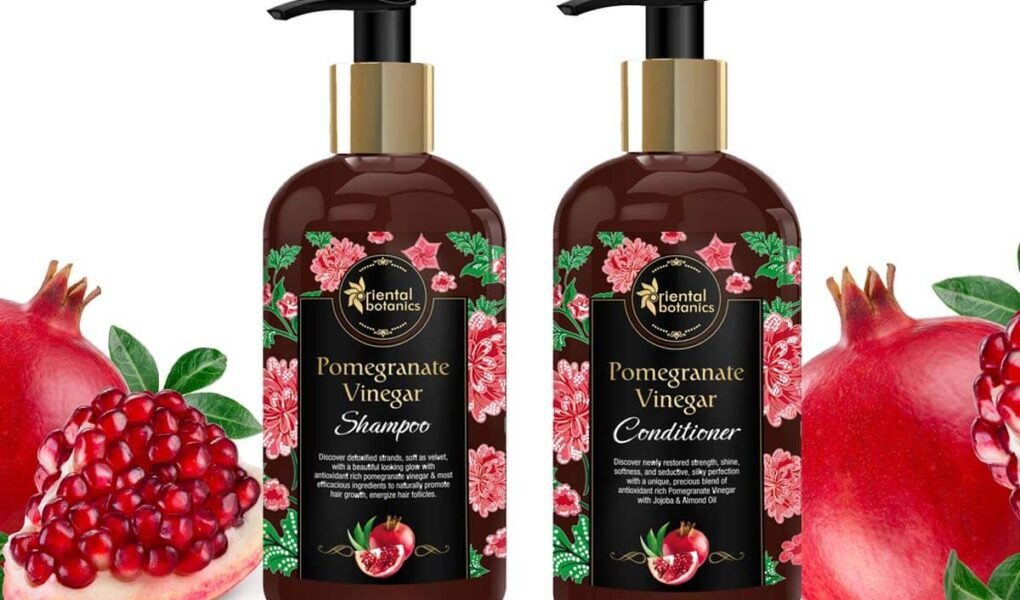 Pomegranate Vinegar Shampoo and Conditioner for Soft, Smooth and Gorgeous Hair