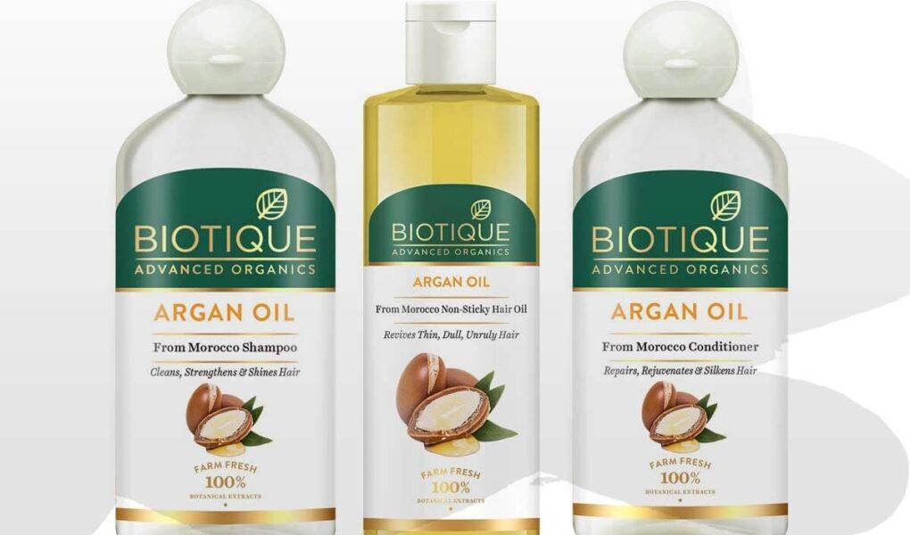 Why to Use Biotique Argan Hair Oil, Argan Oil Hair Shampoo, Argan Oil Hair Conditioner and Argan Oil Hair Mask