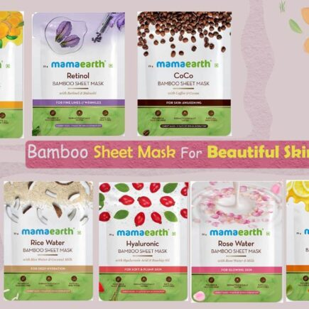 Your Skin Will Fall in Love With These Top 7 Amazing Mamaearth Bamboo Sheet Mask
