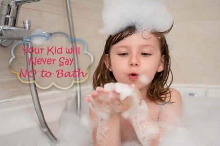 Let Your Kids Bathing Time Be a More Fun with Fruity Fragrance and Foam