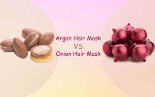Onion Hair Mask vs Argan Hair Mask - Which is Good