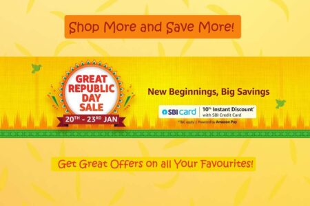 What to Shop During Amazon Great Republic Day Sale 20 to 23rd January