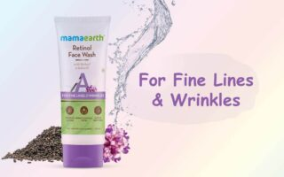 Mamaearth Retinol Face Wash For Fine Lines and Wrinkles