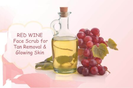 Red Vine Face Scrub with Mulberry Extract & Aloe For Tan Removal & Glowing Skin