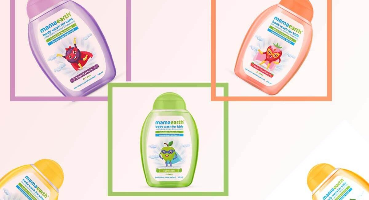 Fruity Shower for Your Cutie Pie - Mamaearth Body Wash for Kids - New Launch