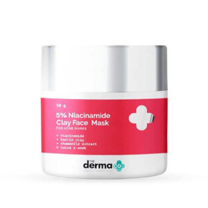 The Derma Co 5% Niacinamide Clay Face Pack
