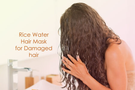 Mamaearth Rice Water Hair Mask for Damage Repair & Smooth hair