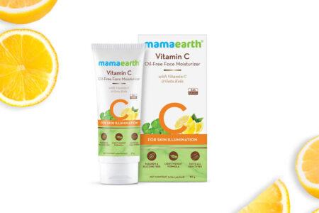 Mamaearth Vitamin C Oil-Free Moisturizer Review