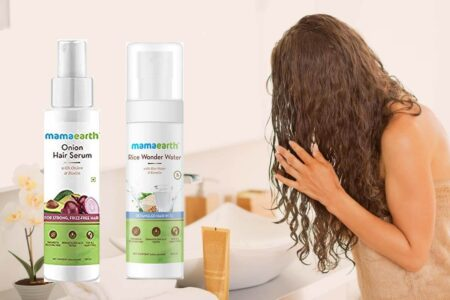 Why to Use Mamaearth Rice Wonder Water Hair Serum & Onion Hair Serum