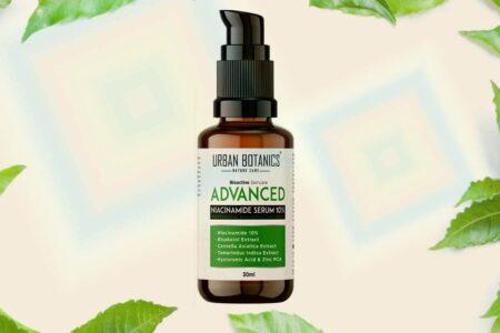 UrbanBotanics® 10% Niacinamide Face Serum for Acne and Oil Balancing