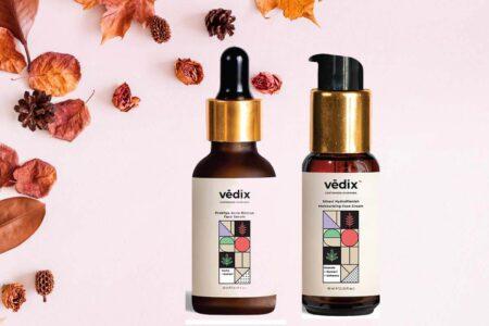 Vedix Prakhya Acne Rescue Face Serum & Vedix Sthavi HydroPlenish Moisturizing Face Cream Review