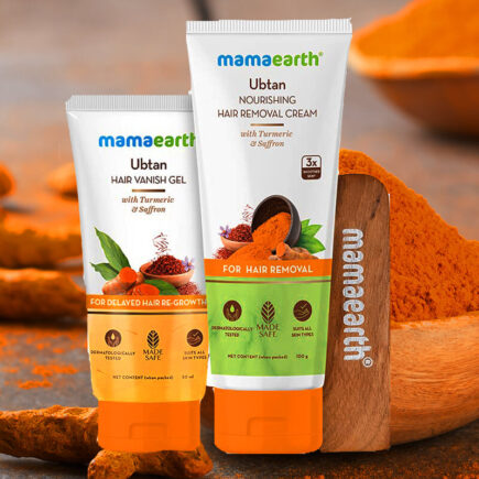 Is it Ok to Use Mamaearth Ubtan Nourishing Hair Removal Cream Kit