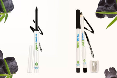 Mamaearth Charcoal Black Long Stay Kajal & Stay Kohl Pencil Review