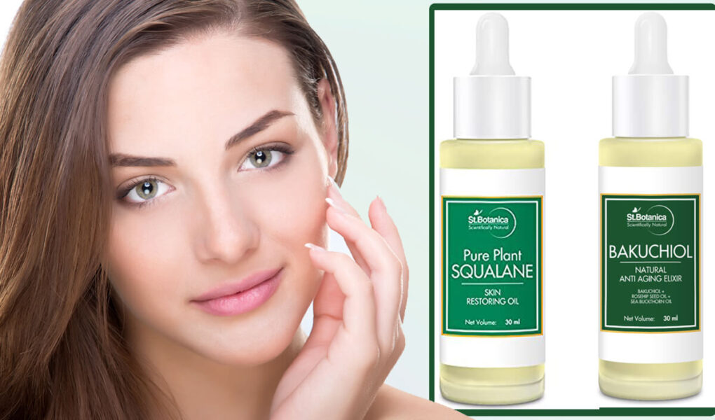 StBotanica Pure Plant Squalane Skin Restoring Face Oil & StBotanica Bakuchiol Face Oil Review