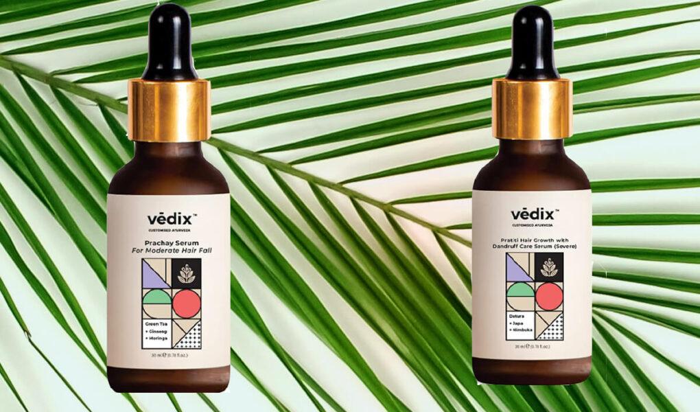 Vedix Customised Ayurvedic Hair Serum VS Vedix Customised Ayurvedic Hair Fall Serum