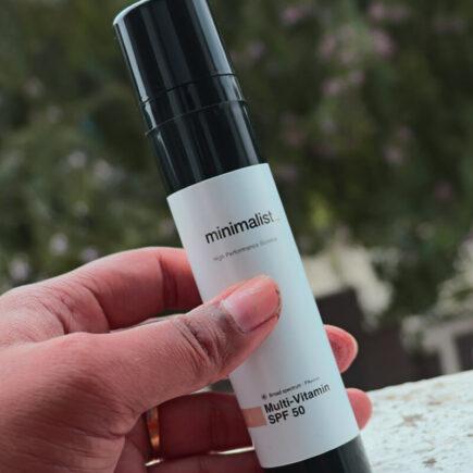 Minimalist Multi Vitamin SPF 50 PA ++++ Sunscreen Vs Minimalist SPF 60 PA ++++