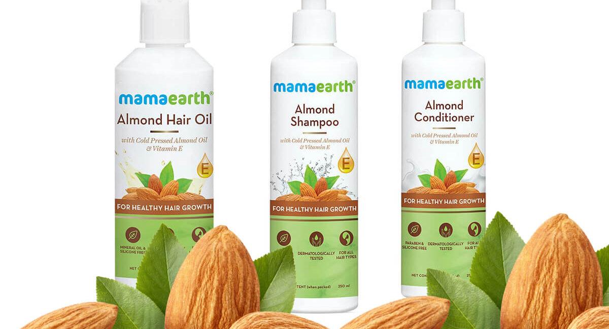 What is this Mamaearth Almond Oil,Shampoo & Conditioner and Does It Really Work on Hair