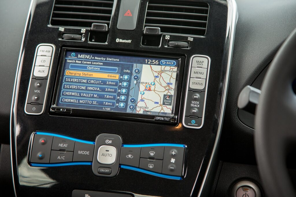 Used Nissan Leaf buying guide dashboard -  EVs Unplugged