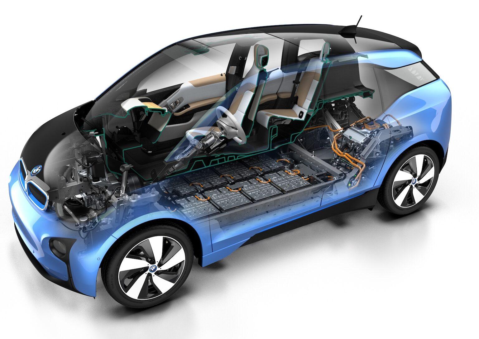 BMW i3 buying guide cutaway - EVs Unplugged