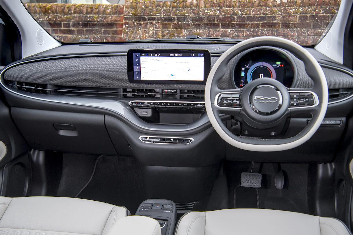 Fiat 500 Electric interior - EVs Unplugged
