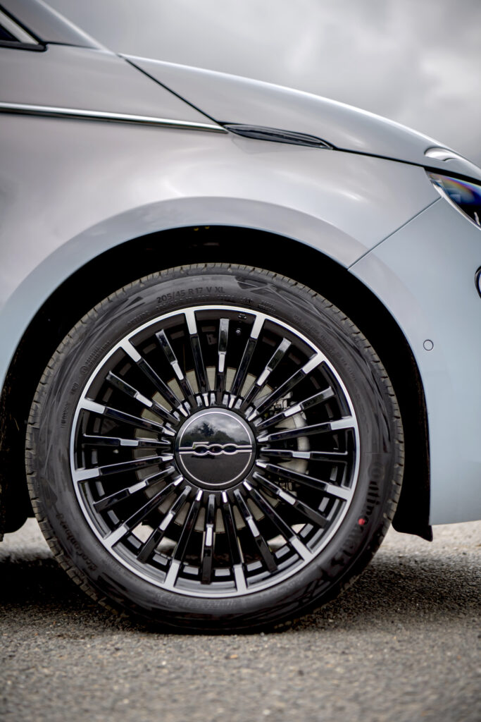 Fiat 500 Electric Wheel - EVs Unplugged