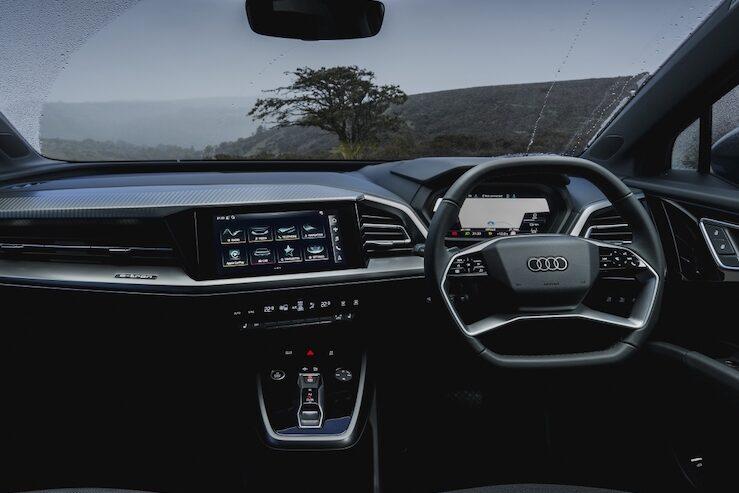Audi Q4 e-tron interior - EVs Unplugged