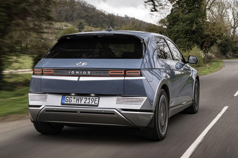 Hyundai Ioniq 5 rear driving - EVs Unplugged