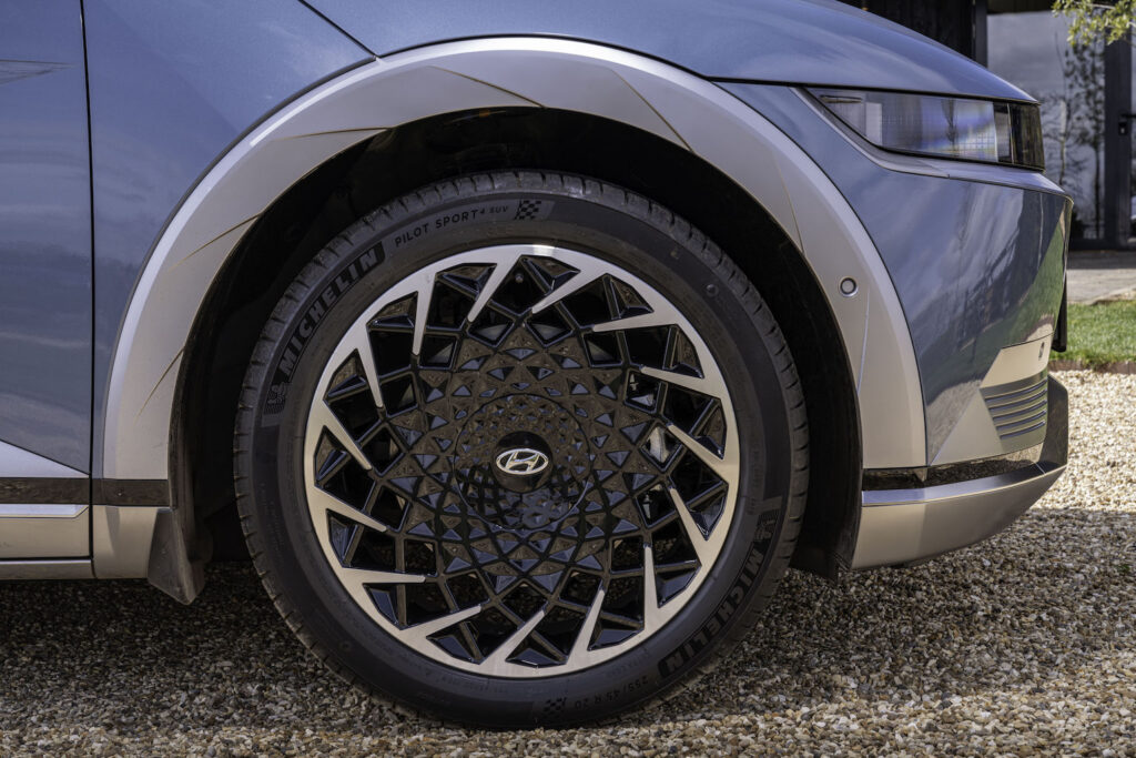 Hyundai Ioniq 5 wheel - EVs Unplugged