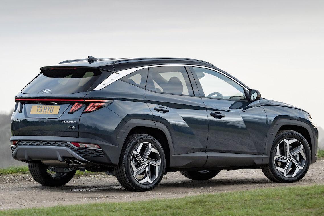 Hyundai Tucson Plug-In Hybrid rear - EVs Unplugged