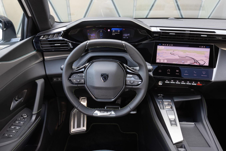 Peugeot 308 plug-in hybrid interior - EVs Unplugged
