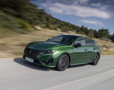 Peugeot 308 PLug-In Hybrid driving - EVs Unplugged