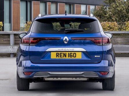 Renault Megane Sport Tourer Plug-In Hybrid rear - EVs Unplugged