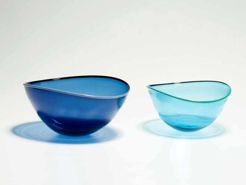 Medium Blue & Small Aqua Altrim Bowl
