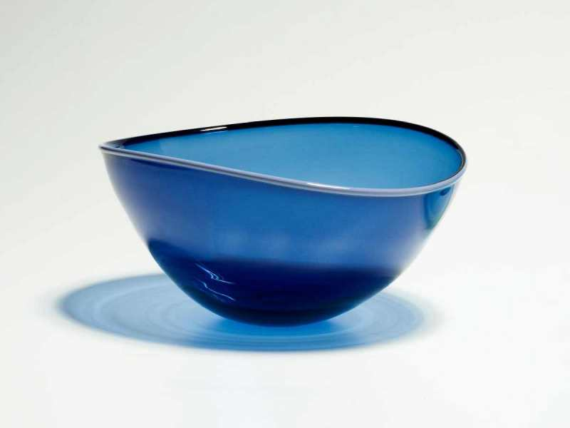 Medium Blue Altrim Bowl