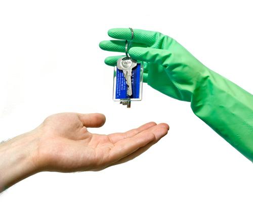 tenancy cleaning keys