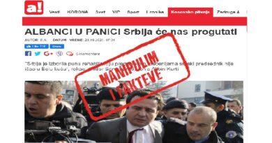 """Mediat pro-qeveritare serbe shpërndajnë njëzëri propagandën për frikën e fqinjëve ndaj """"Serbisë së Madhe"""""""