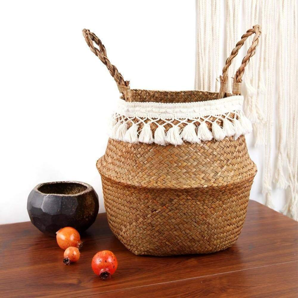 Seagrass Woven Basket - Wow Things