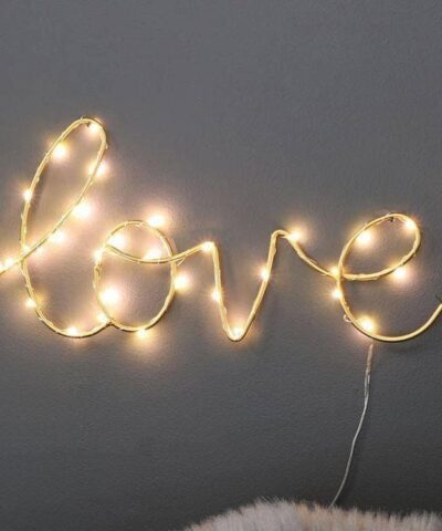 Love Light Sculpture - Wow Things